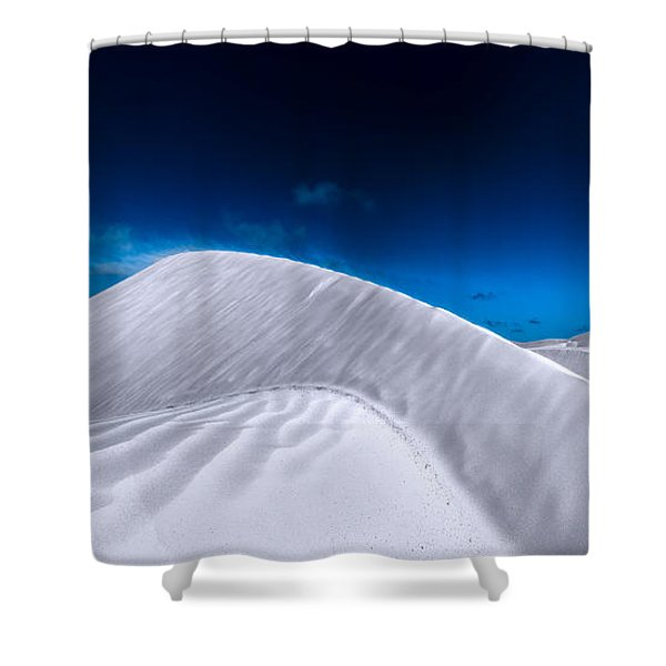 More Desert On The Horizon Shower Curtain