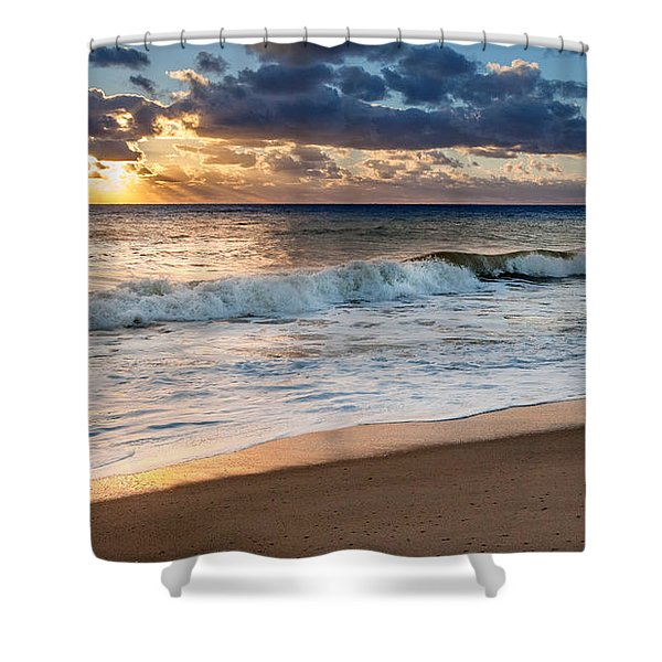 Morning Clouds Shower Curtain