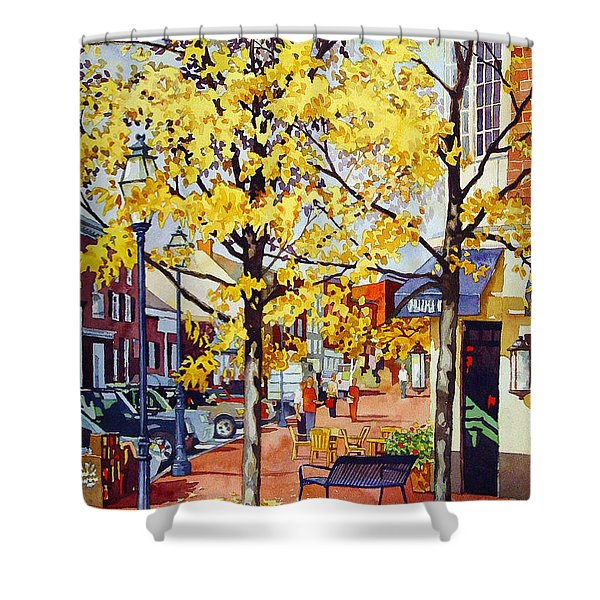 Morning Delivery Shower Curtain