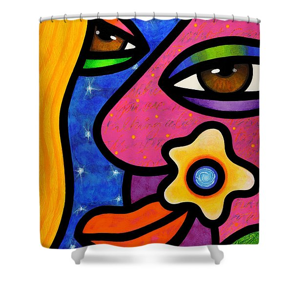 Morning Gloria Shower Curtain