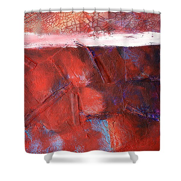 Morning Grit Shower Curtain