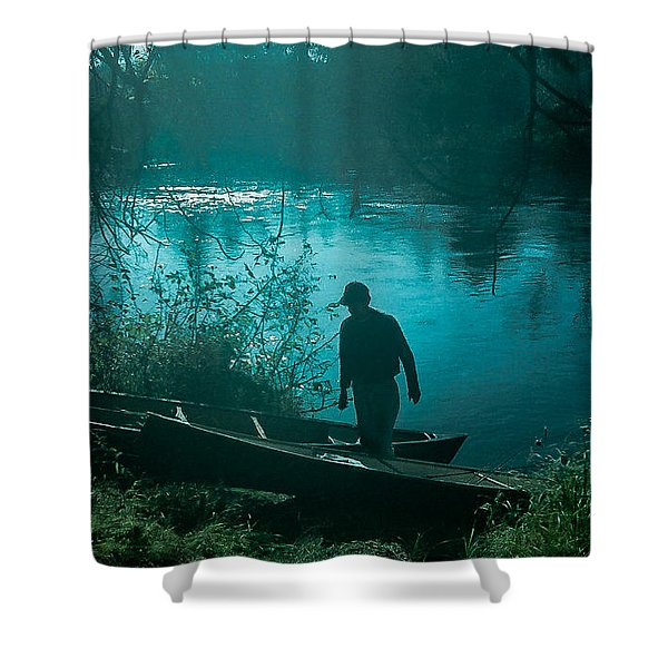 Morning In Quetico Shower Curtain