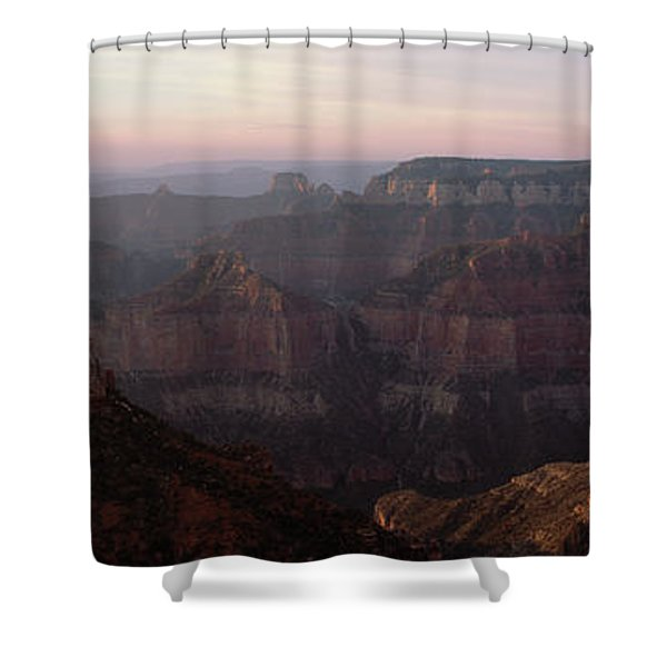 Morning Light On The Grand Canyon Shower Curtain