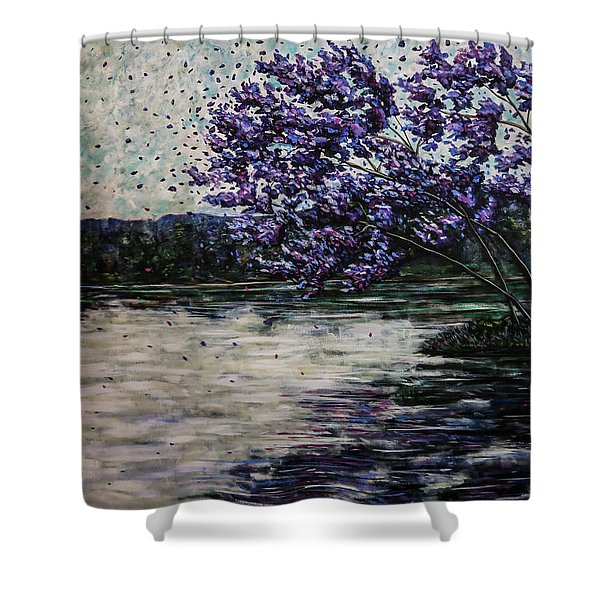 Morning Reflections Shower Curtain