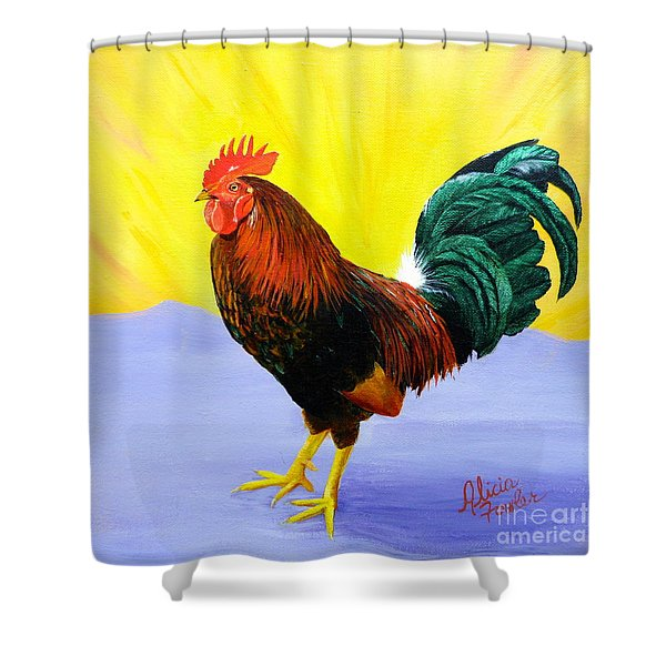 Morning Serenade Shower Curtain