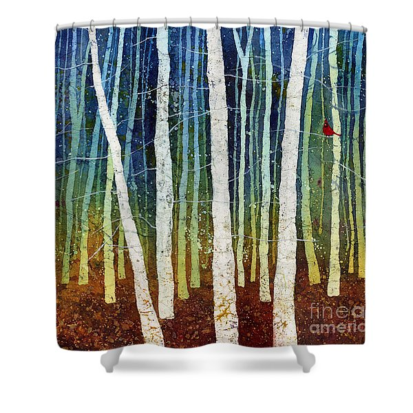 Morning Song 3 Shower Curtain