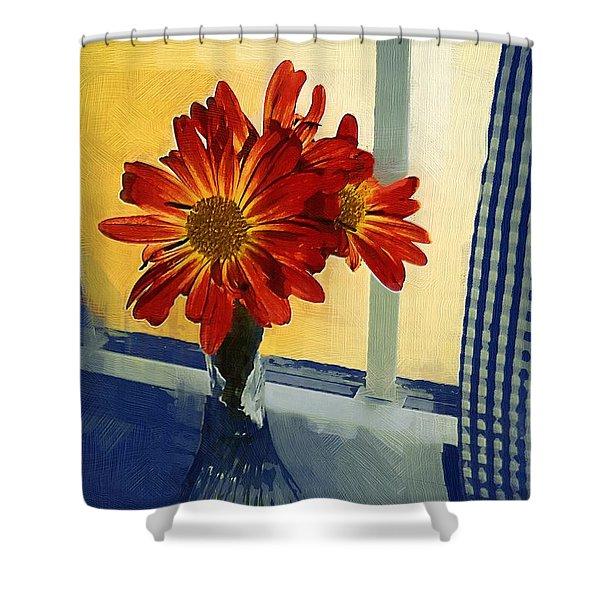Morning Window Shower Curtain