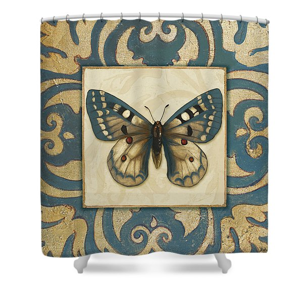 Moroccan Butterfly I Shower Curtain