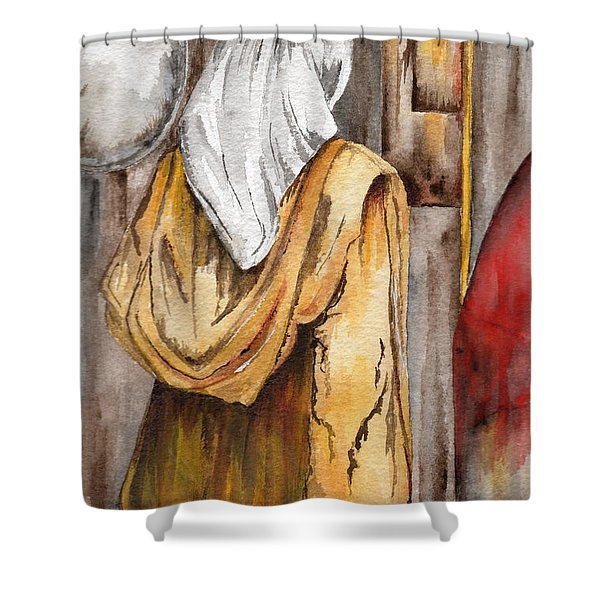 Morocco Woman Shower Curtain