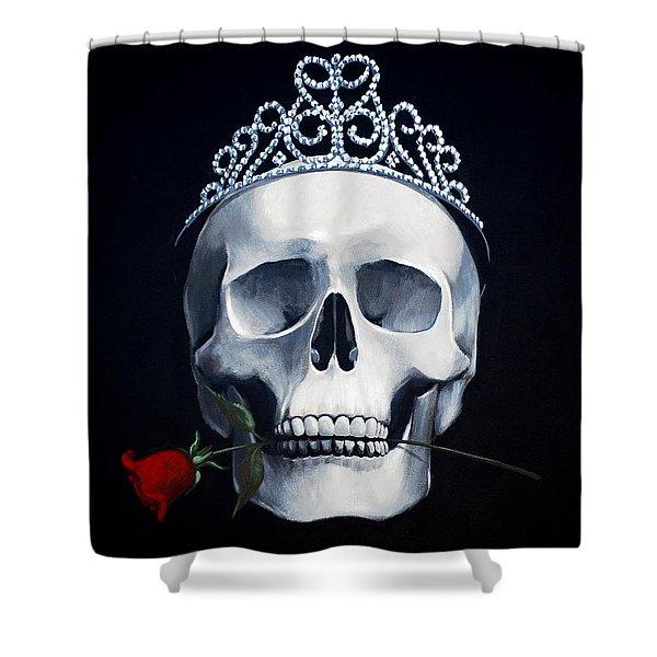 Mortal Beauty Shower Curtain