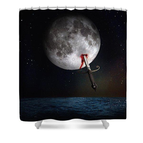Morte Di Un Sogno - Dying Dream Shower Curtain