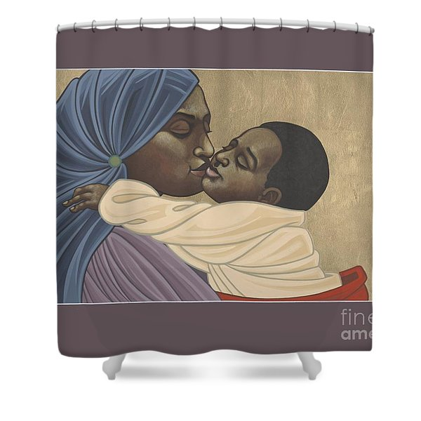 Mother And Child Of Kibeho 211 Shower Curtain