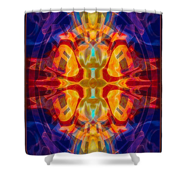 Mother Of Eternity Abstract Living Artwork Shower Curtain