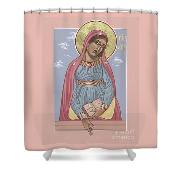 Mother Of Holy Hope 263 Shower Curtain