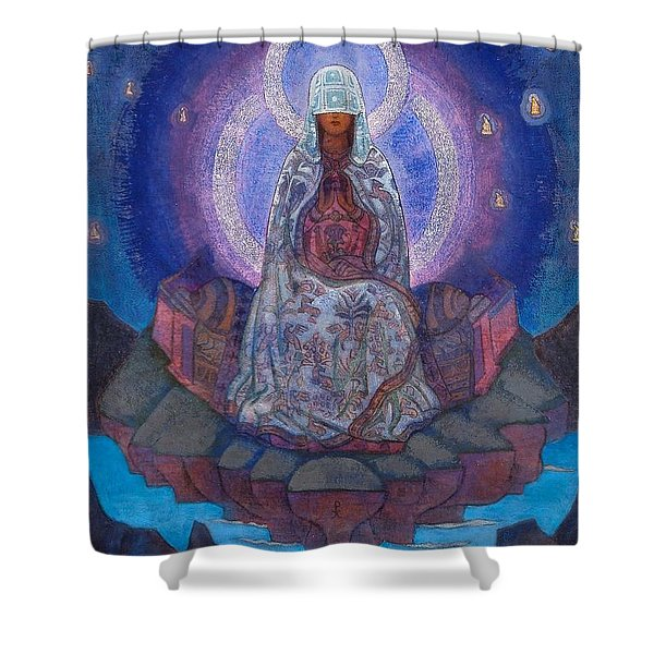 Mother Of The World Shower Curtain