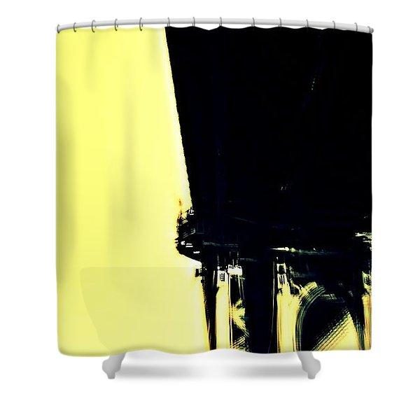 Motion Blur 2 Shower Curtain