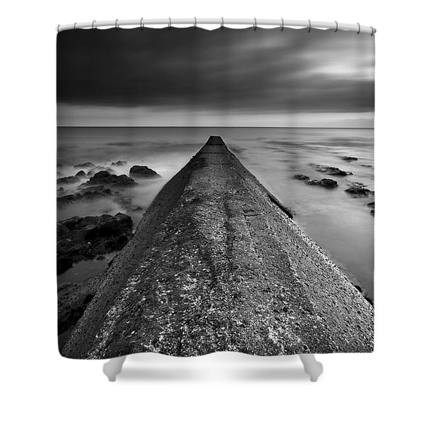 Motion By The Ocean Shower Curtain