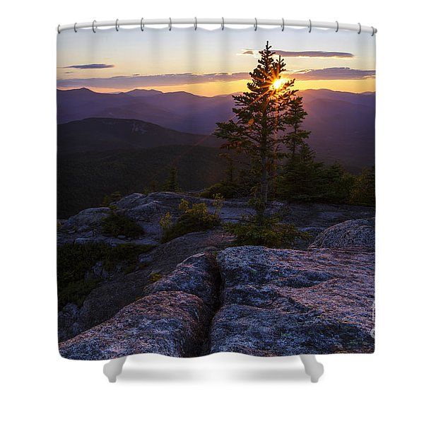 Shower Curtain featuring the photograph Mount Chocorua Scenic Area - Albany New Hampshire Usa by Erin Paul Donovan