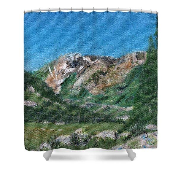 Mount Superior Shower Curtain