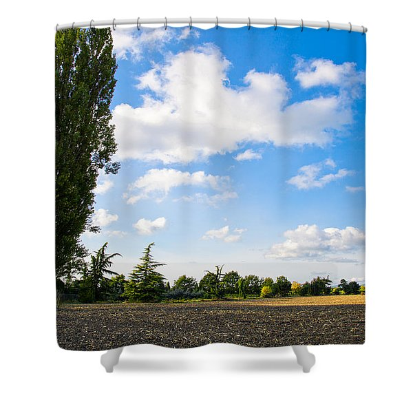 Mount Vernon Farmland II Shower Curtain