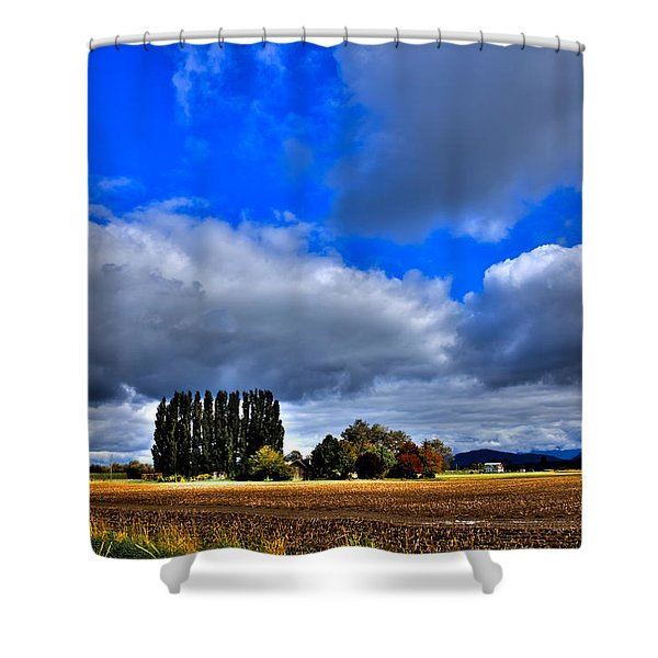 Mount Vernon In The Fall Shower Curtain