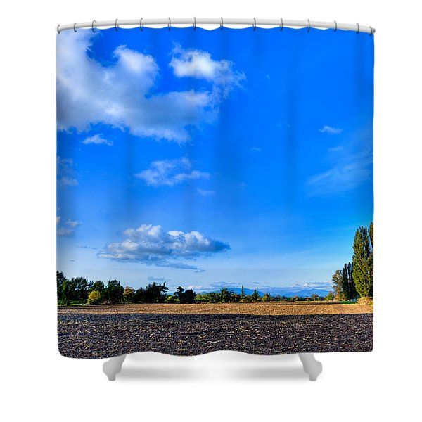 Mount Vernon Landscape Shower Curtain