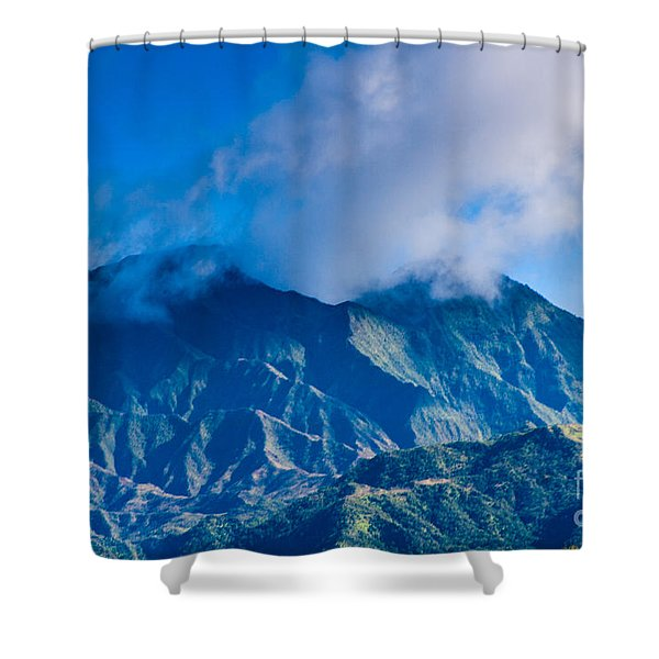 Mount Wai'ale'ale  Shower Curtain