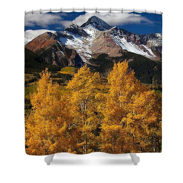 Mountainous Wonders Shower Curtain