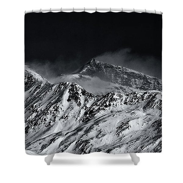 Mountainscape N. 5 Shower Curtain