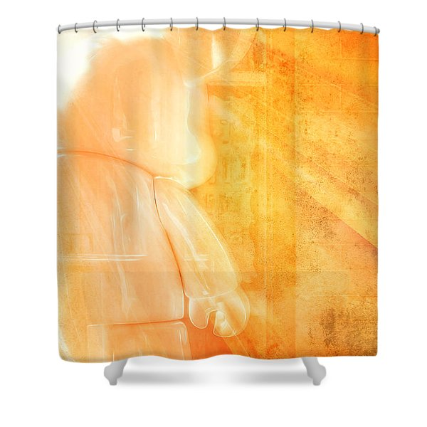 Mouse Number 7 Shower Curtain