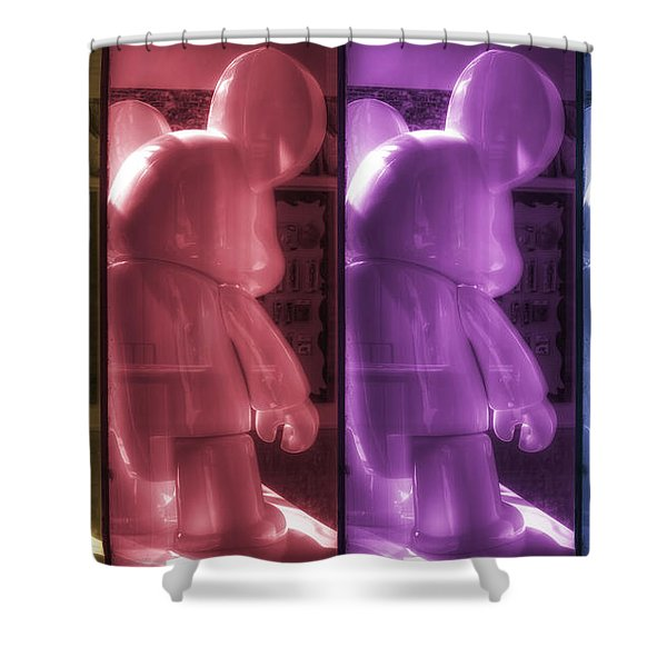 Mouse X4 Shower Curtain