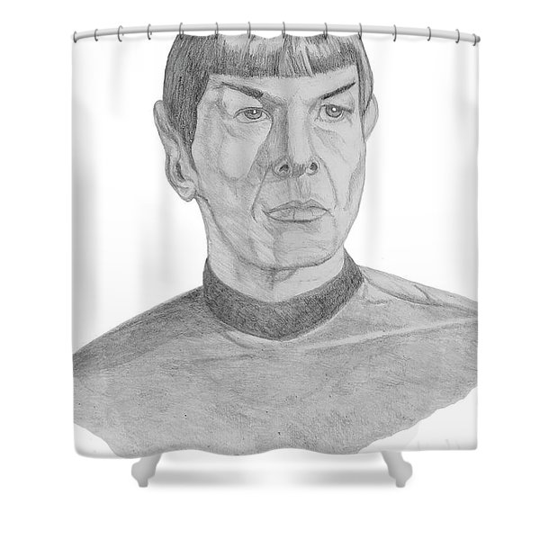 Mr. Spock Shower Curtain
