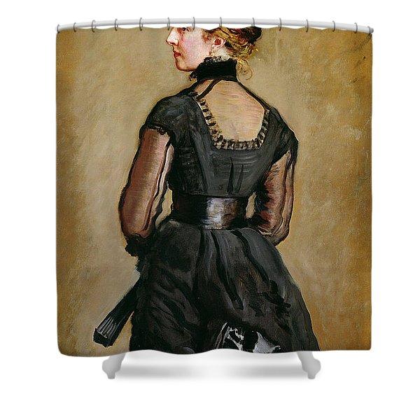 Mrs Perugini, Charles Dickens Second Shower Curtain