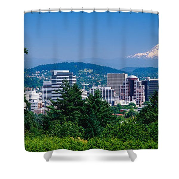 Mt Hood Portland Oregon Usa Shower Curtain