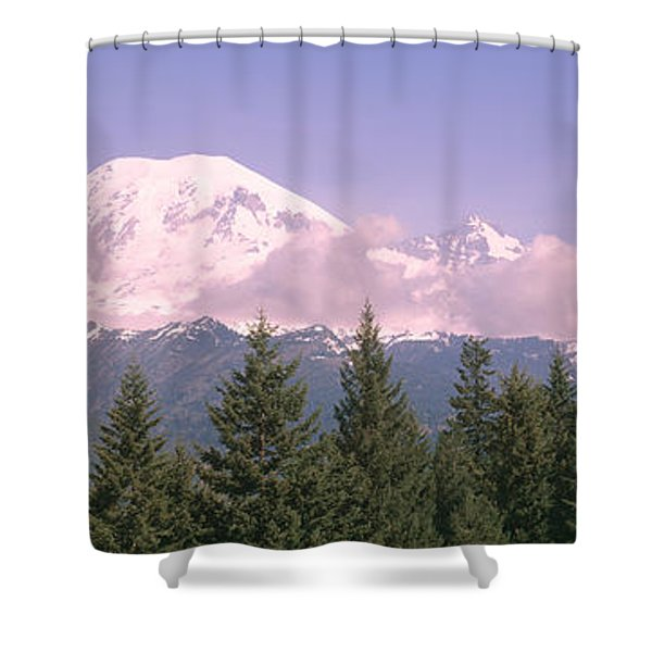 Mt Ranier Mt Ranier National Park Wa Shower Curtain