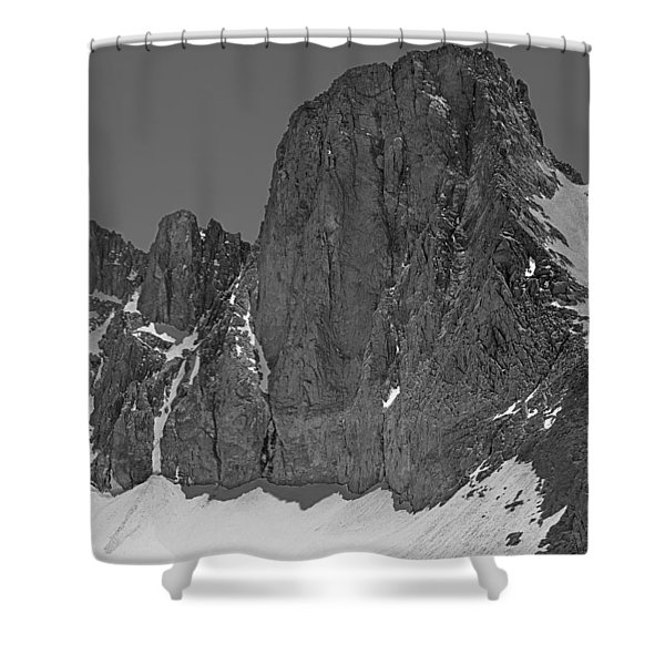 406427-mt. Sill, Bw Shower Curtain