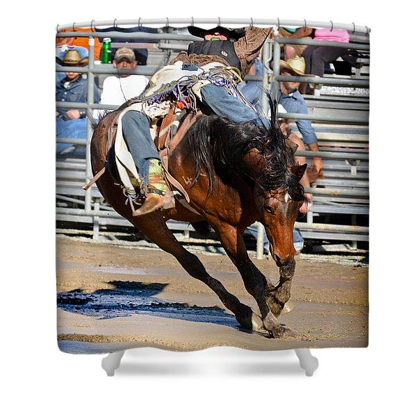 Mud Riders Shower Curtain