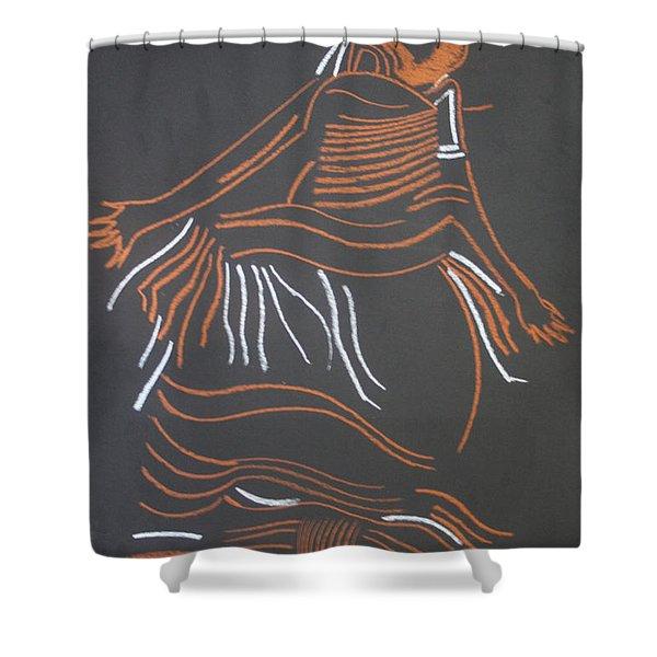Muganda Lady - Uganda Shower Curtain