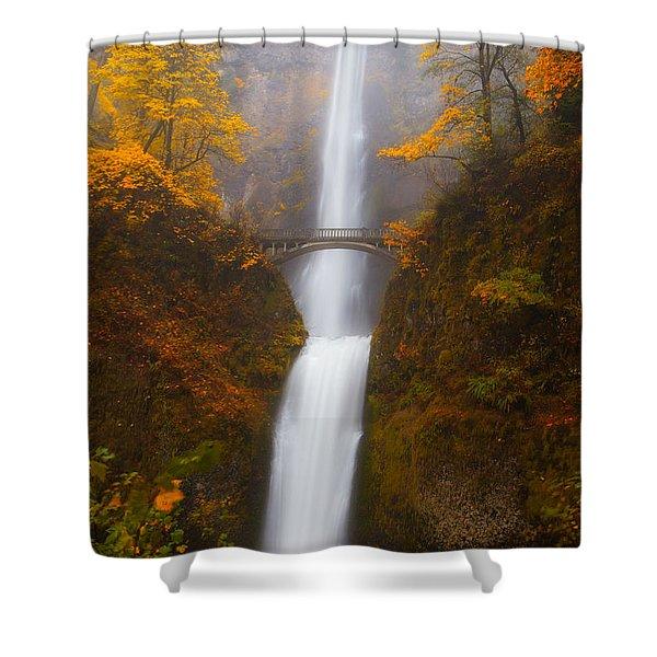 Multnomah Morning Shower Curtain