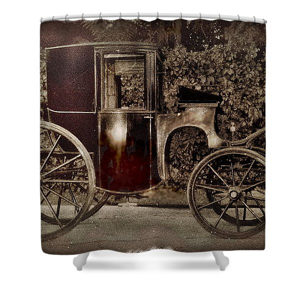 Murdoch Mysteries Carriage Shower Curtain