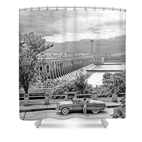 Muscle Shoals Shower Curtain