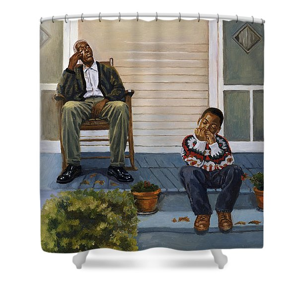 Music Lesson Number 3 Shower Curtain