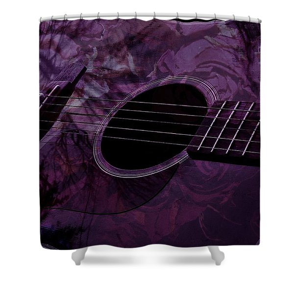 Music Of The Roses Shower Curtain