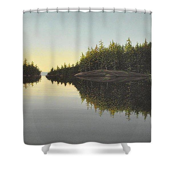 Muskoka Solitude Shower Curtain
