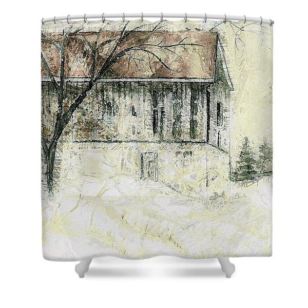 Caledon Barn Shower Curtain