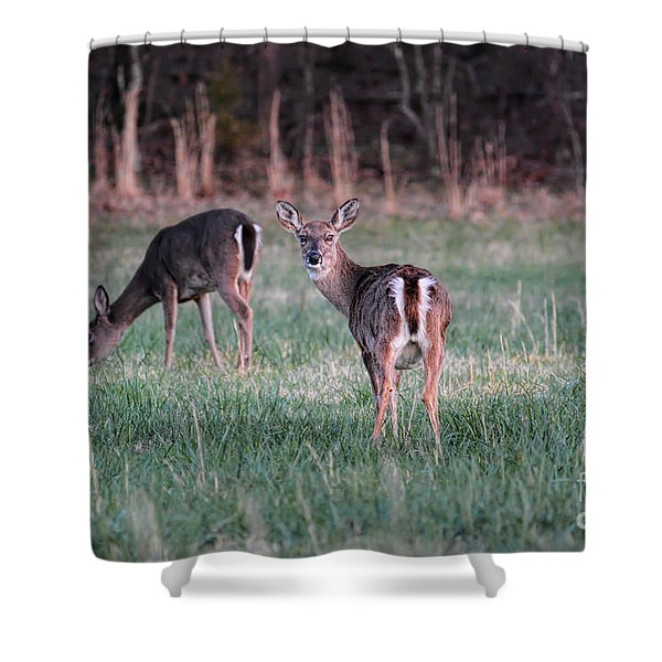 My Good Side Shower Curtain