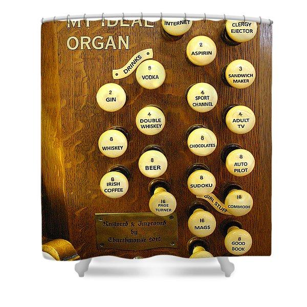 My Ideal Organ Shower Curtain