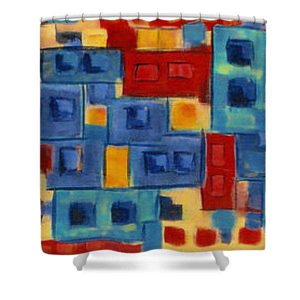 My Jazz N Blues 2 Shower Curtain
