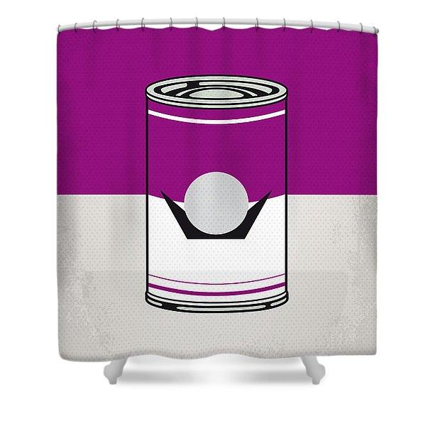 My Mario Warhols Minimal Can Poster-waluigi Shower Curtain