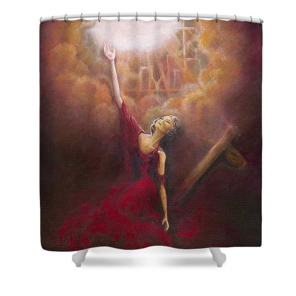 My Salvation  Shower Curtain